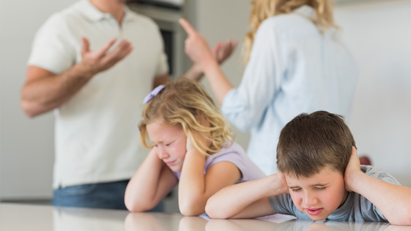Protecting Children in a Public Divorce.